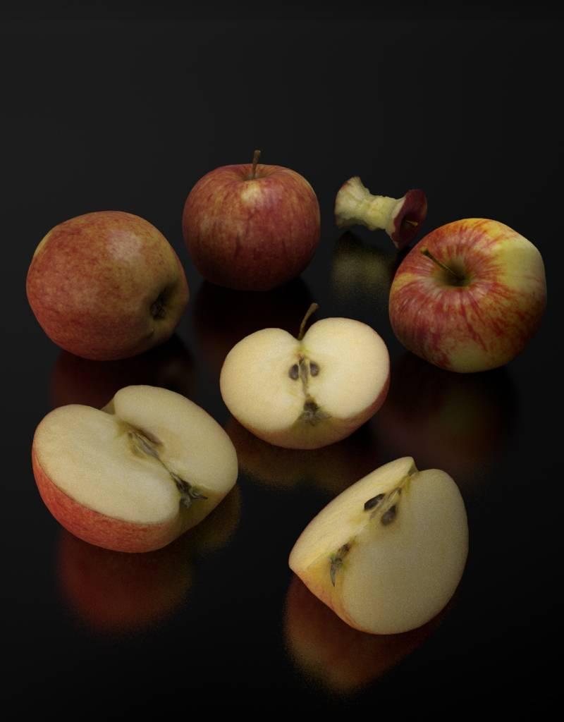 3D model Elstar apple
