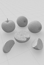 3D model Granny Smith apple