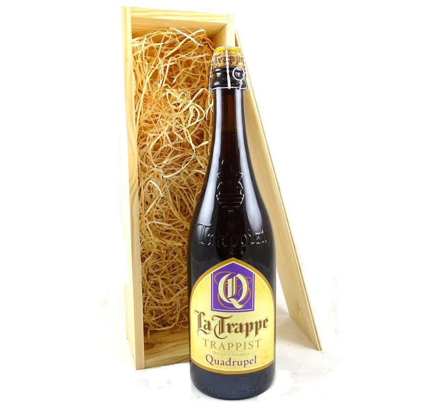 Bierkist La Trappe Quadrupel (10%)