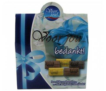 Belgische Chocolade Bedankt