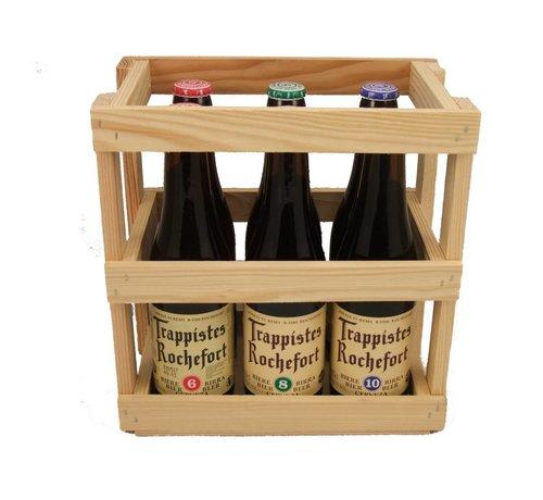 Bierkrat Rochefort  6st.