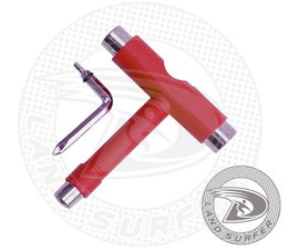 Land Surfer Skateboard tool red