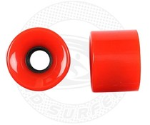 Land Surfer Skateboard wheels red (set of 2 pieces)