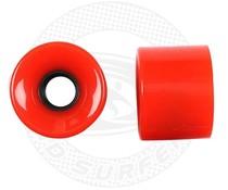 Land Surfer Skateboard wielen rood (set van 2 stuks)