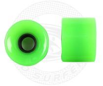Land Surfer Skateboard wheels green (set of 2 pieces)
