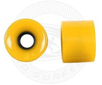 Land Surfer Skateboard wheels yellow (set of 2 pieces)