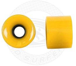 Land Surfer Skateboard wheels yellow (set of 2 pieces)