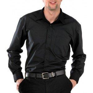 Beeswift Heren blouse zwart
