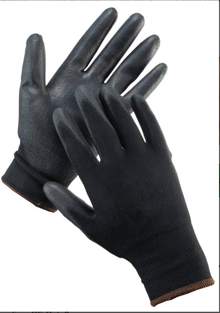 Montage handschoen zwart