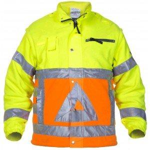 Hydrowear Florence verkeersregelaars fleece jack