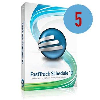 FastTrack Schedule 10 - 5er Serverlizenz
