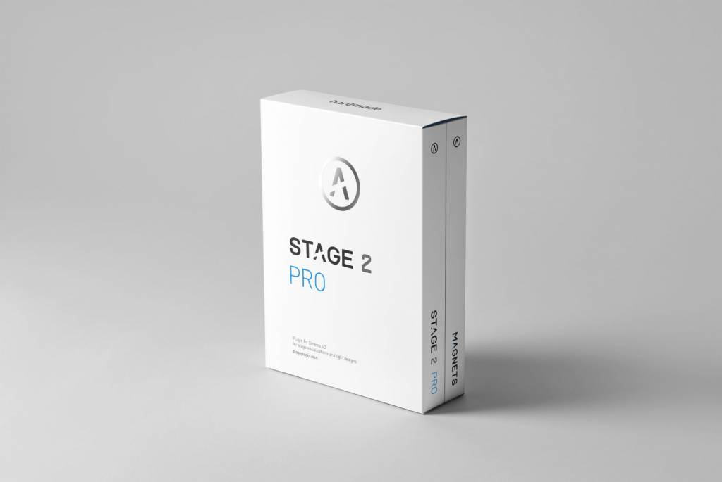 hantmade Stage Pro - Cinema 4D plugin - Upgrade: Stage (1+2) > Stage 2 Pro