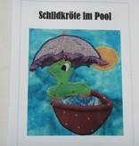 """Patchworkanleitung """"Schildkröte im Pool"""""""
