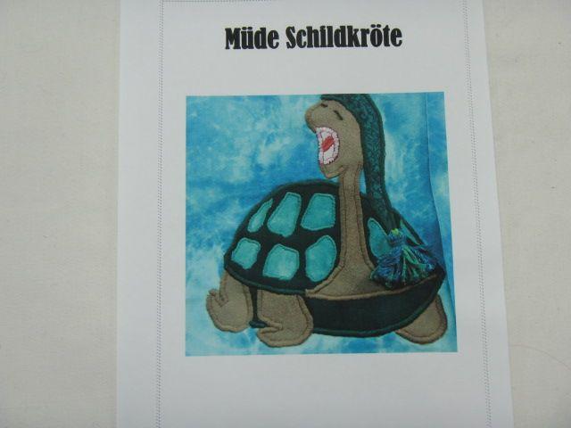 """Patchworkanleitung """"Müde Schildkröte"""""""