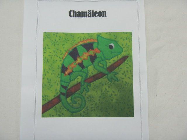 """Patchworkanleitung """"Chamäleon"""""""