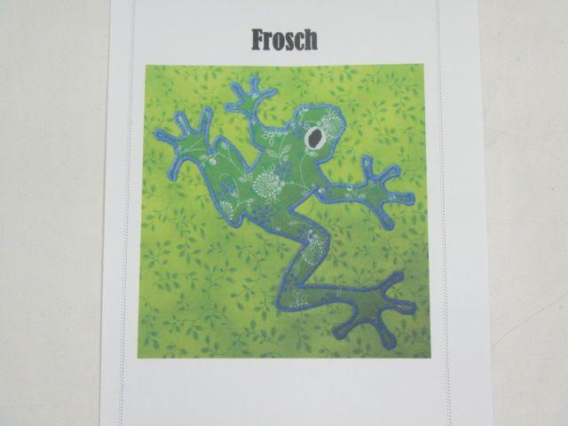"""Patchworkanleitung """"Frosch U"""""""