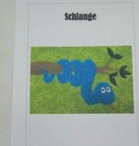 """Patchworkanleitung """"Schlange"""""""
