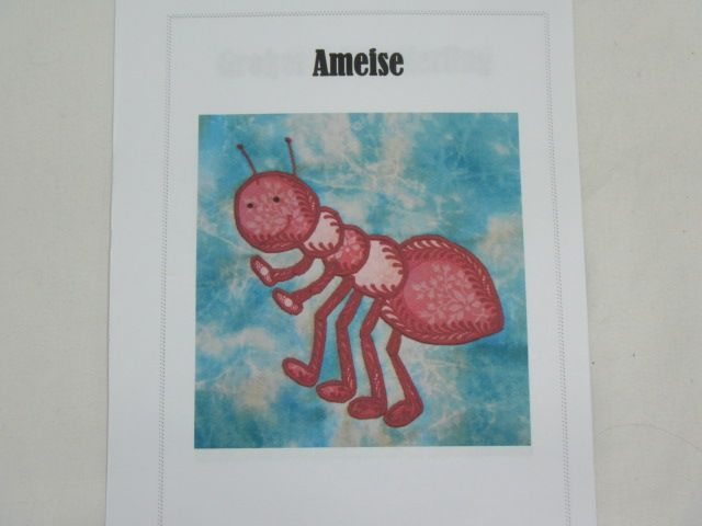 """Patchworkanleitung """"Ameise"""""""