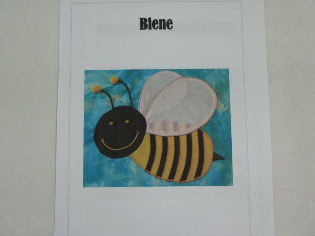 "Patchworkanleitung ""Biene"""
