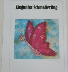 """Anleitung """"Eleganter Schmetterling"""""""