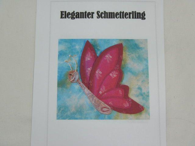 """Patchworkanleitung """"Eleganter Schmetterling"""""""