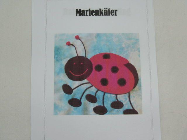 "Patchworkanleitung ""Marienkäfer"""