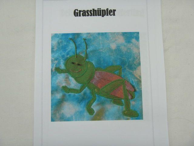 """Patchworkanleitung """"Grashüpfer"""""""