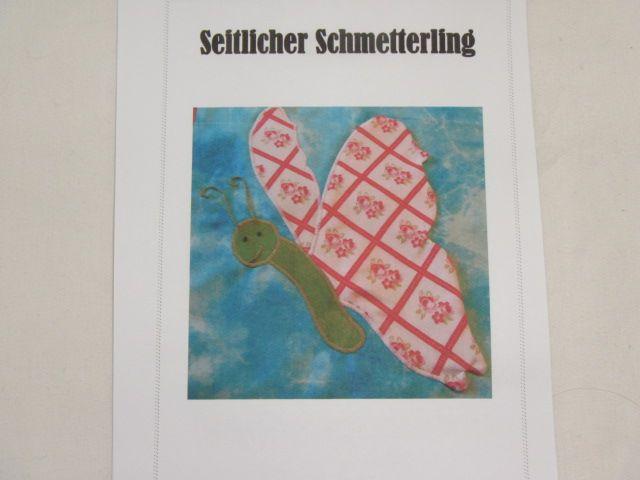 """Patchworkanleitung """"Seitlicher Schmetterling"""""""