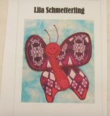 "Patchworkanleitung ""Lila Schmetterling"""