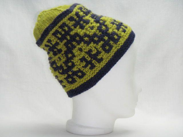 Mütze kiwigrün