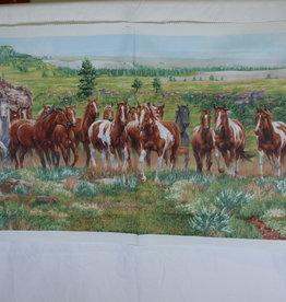 """Stoff """"Pferde"""" - Paneel"""