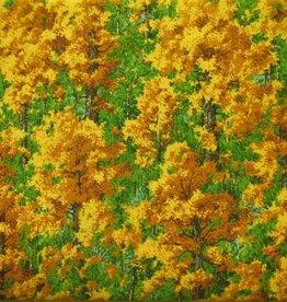 """Stoff """"Bäume im Herbst"""""""