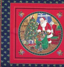 """Kissenpaneel """"Weihnachtsmann"""""""