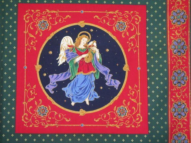 Kissenpaneel Weihnachten Heilige Familie