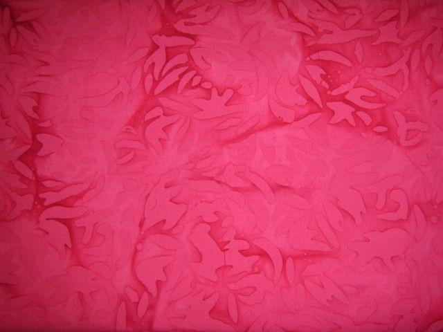 Batikstoff Phantasiemuster in pink