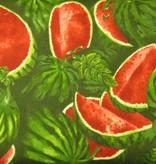 Stoff Wassermelonen