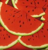 Stoff Wassermelonenscheiben