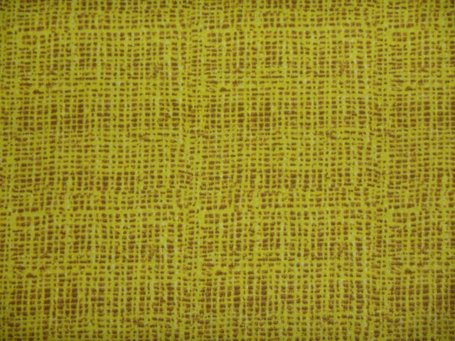 Stoff Korbgeflecht gelb-braun