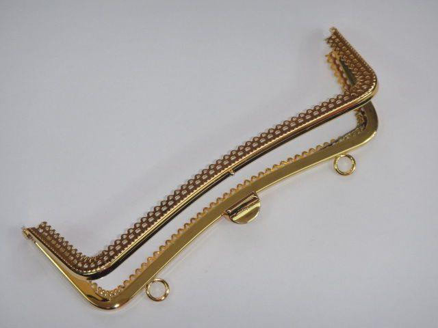 Goldfarbener Taschenverschluss