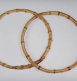 Taschengriffe aus Bambus rund