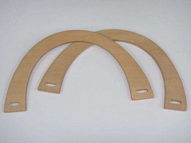 Taschengriffe aus Holz