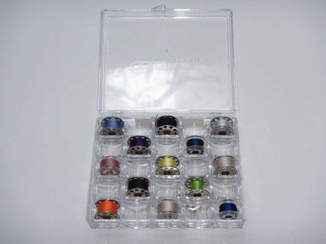 Nähfadenbox für Nähmaschinenspulen