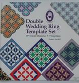 "Schablonen-Set ""Double Wedding Ring"""