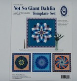 "Schablonen-Set ""Not So Giant Dahlia"", Marti Mitchell"