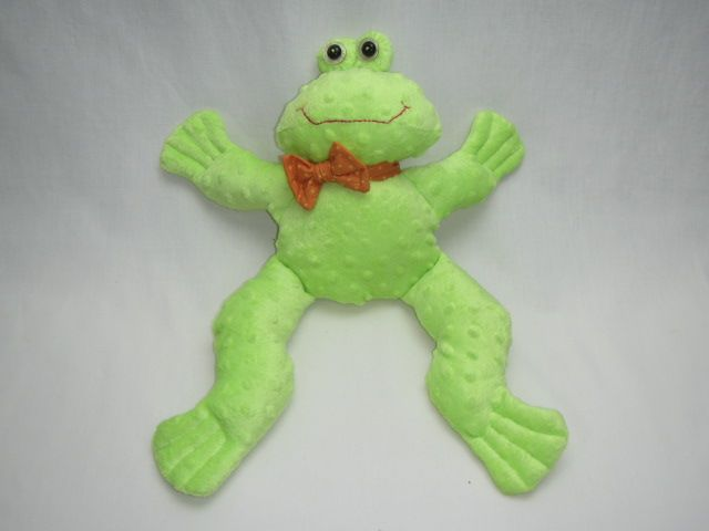 "Patchworkarbeit ""Frosch Albert"""