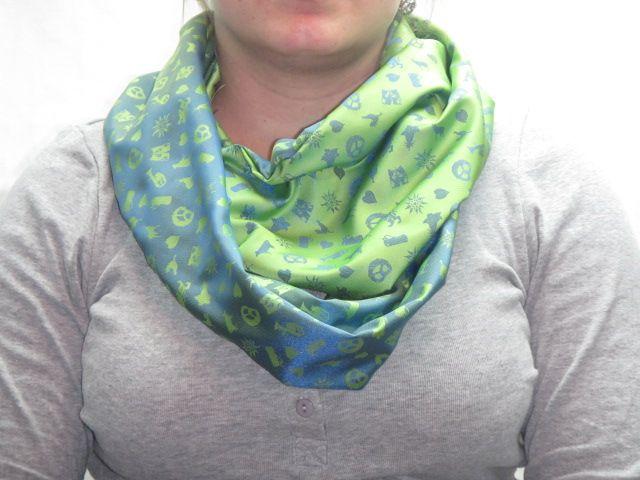 """""""Möbius""""-Loop blau-grün"""