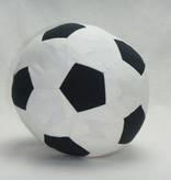 Fußball aus Baumwolle