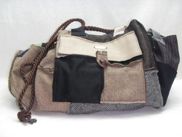 Tasche aus Loden