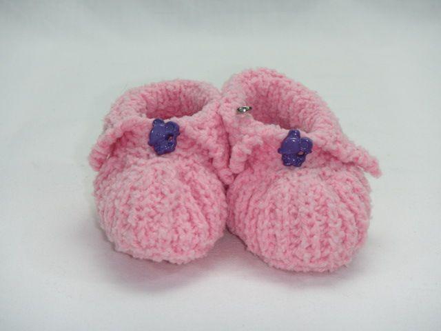 Babyschühchen rosa