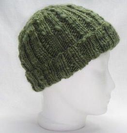 Mütze moosgrün